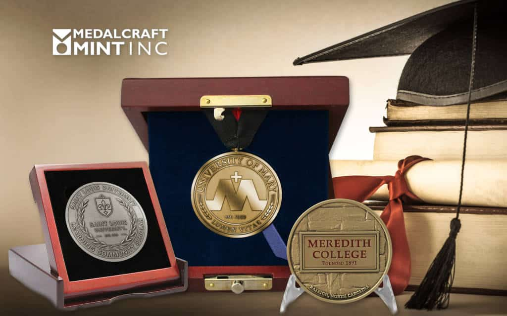 Medalcraft Mint Collegiate medals