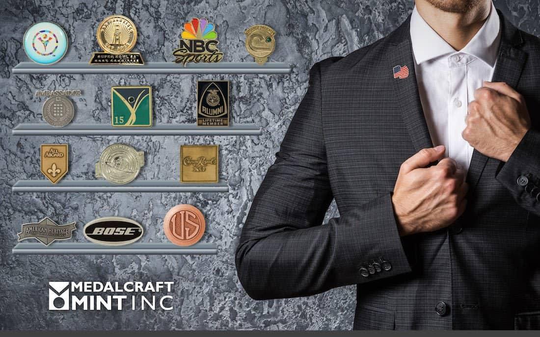 Medalcraft Mint Custom Award Pin