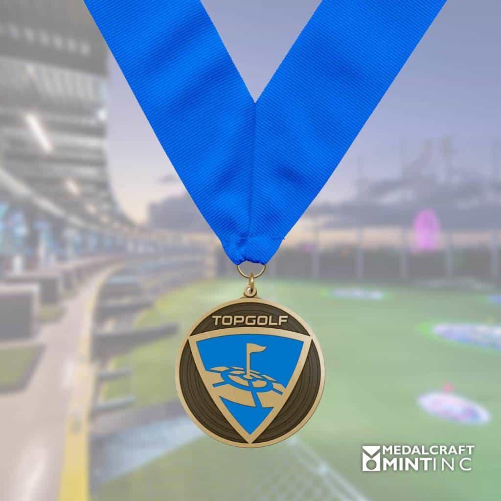 topgolf Award Medal