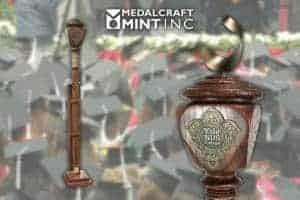 Ceremonial Maces Symbolize the Tradition Behind Academic Formalities
