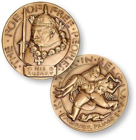 Kultur in Belgium Medal
