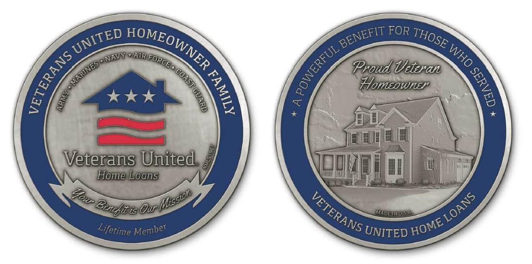 Medalcraft Mint challenge coin veterans