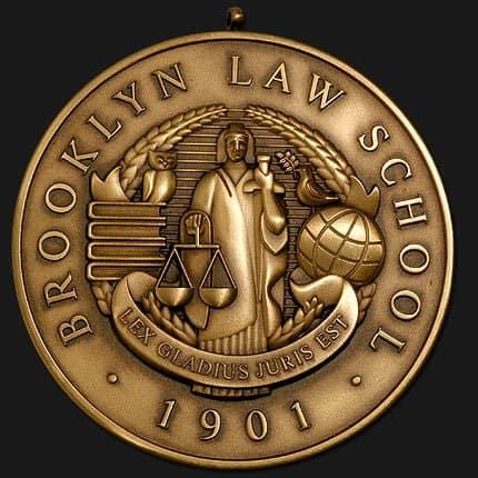 Medalcraft Mint Academic Medallions – Brooklyn Law School