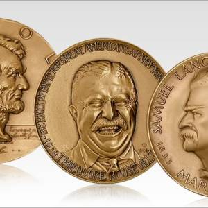 Famous Americans Medallions
