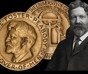 The George Foster Peabody Award Medal