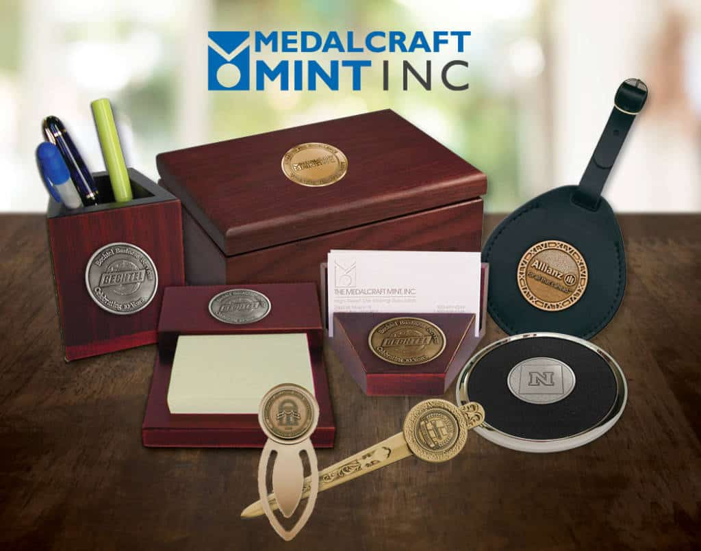Medalcraft Executive Desk Gift