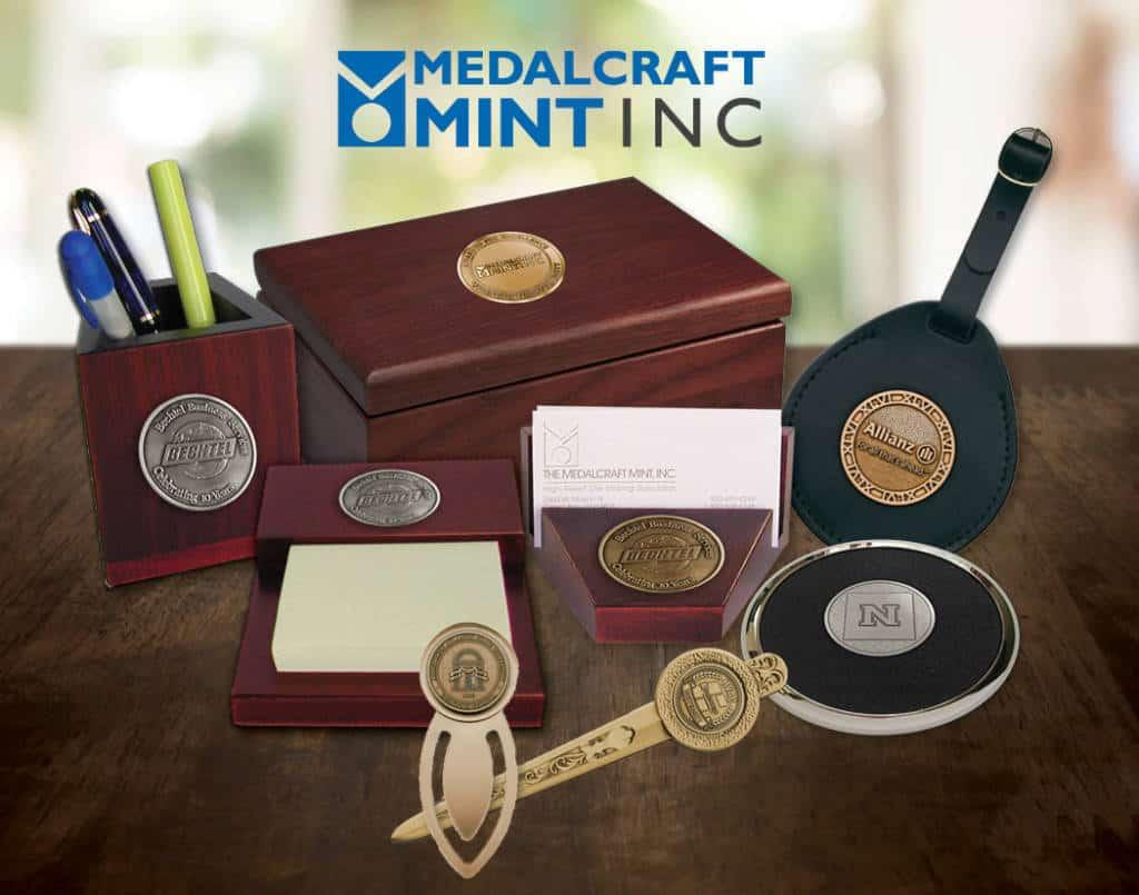 Medalcraft Mint Executive Desk Gift