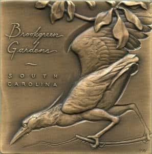 3-dimensional medals Brookgreen Gardens