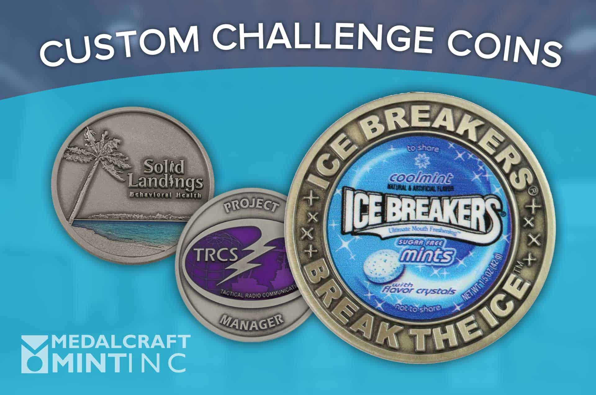 Medalcraft Mint challenge coin