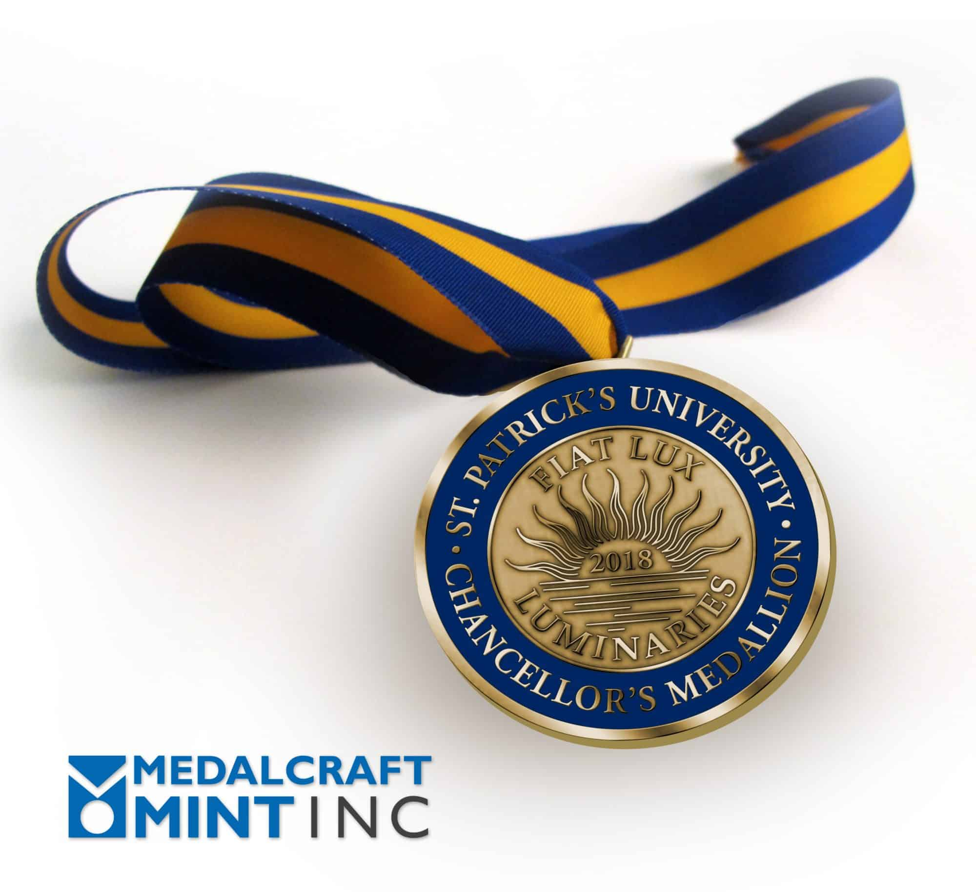 Is it time to refresh your chancellor's medal?