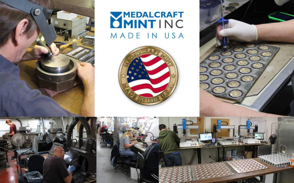 Medalcraft Mint Medal Manufacturers