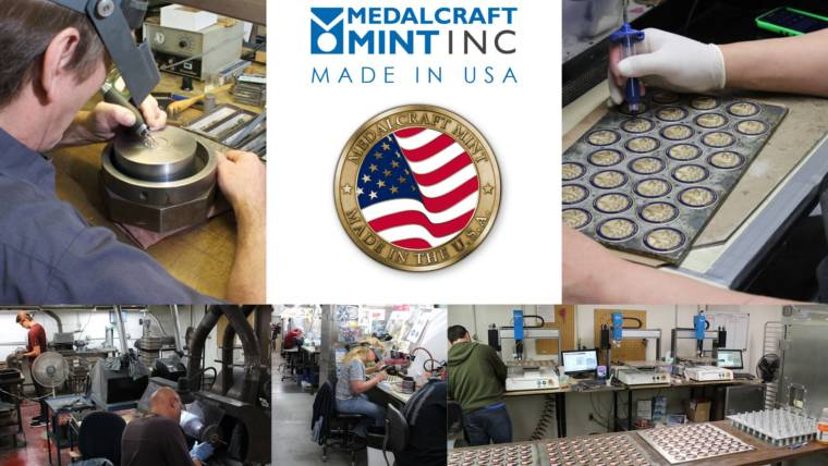 Medalcraft Mint's quality stands out among medal manufacturers