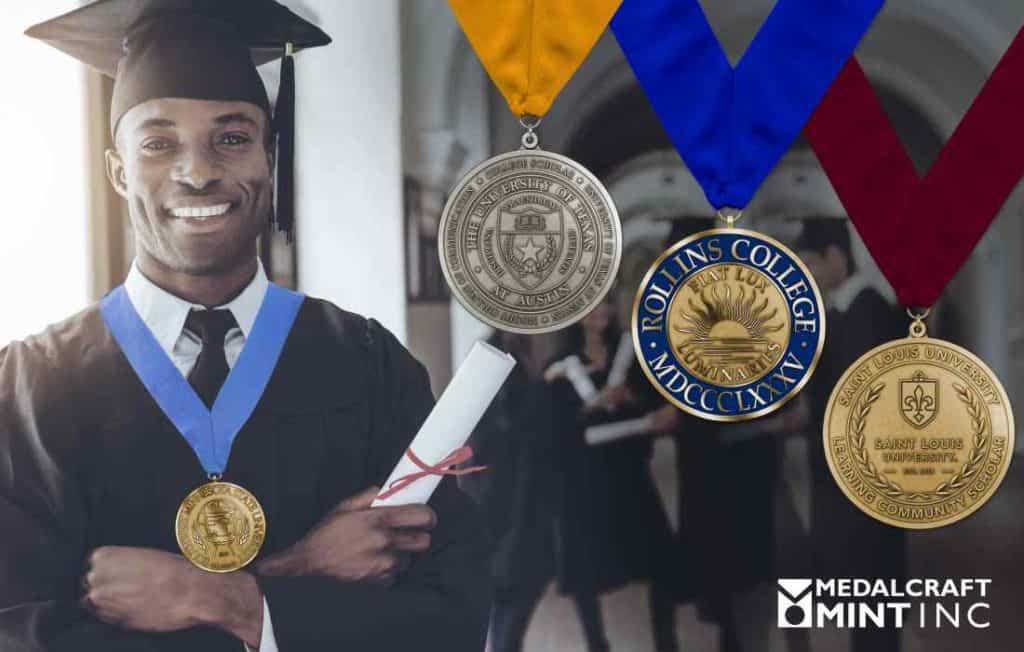 Medalcraft Mint college graduation medals