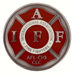 Fire fighter corporate challenge coin