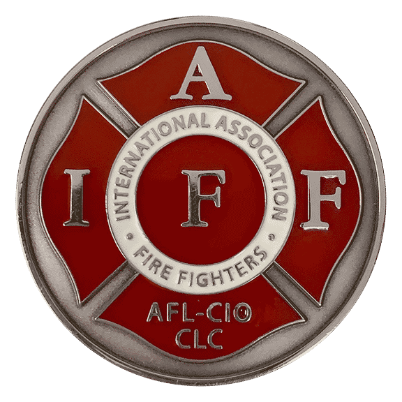Medalcraft Mint Fire fighter corporate challenge coin