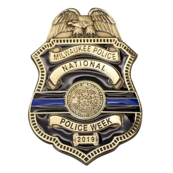 Medalcraft Mint Milwaukee Police Badge