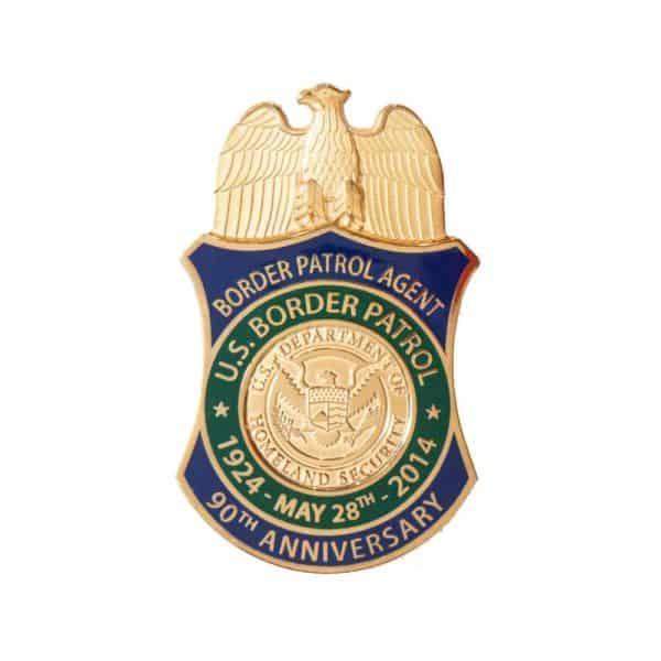 Medalcraft Mint Border Patrol Badge