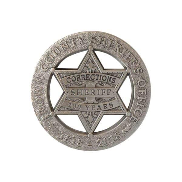 Medalcraft Mint sheriff badges