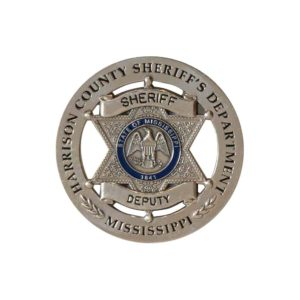 Color Sheriff Badge