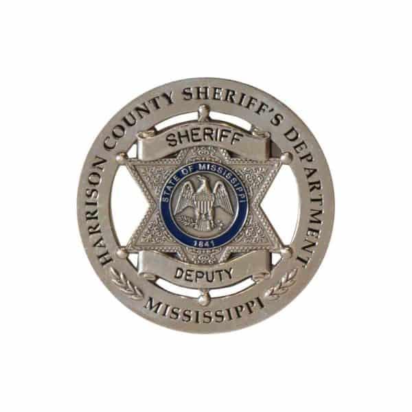Medalcraft Mint color sheriff badge