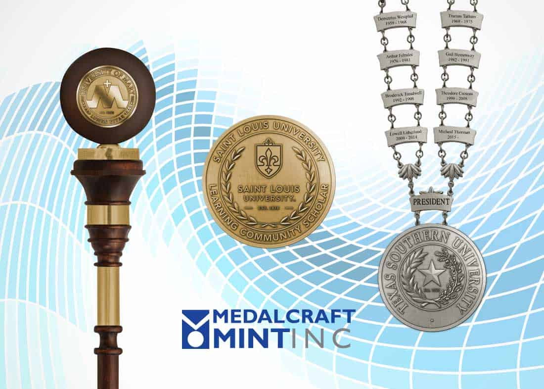 Plan now for graduation medals, chains of office and maces