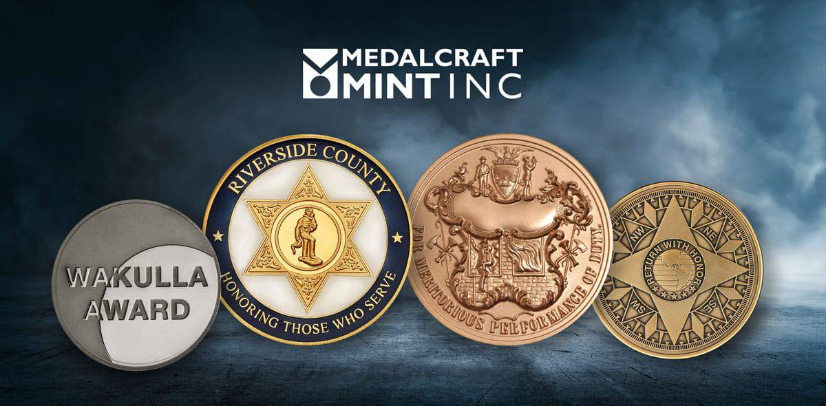 High-quality award medals are made in the USA