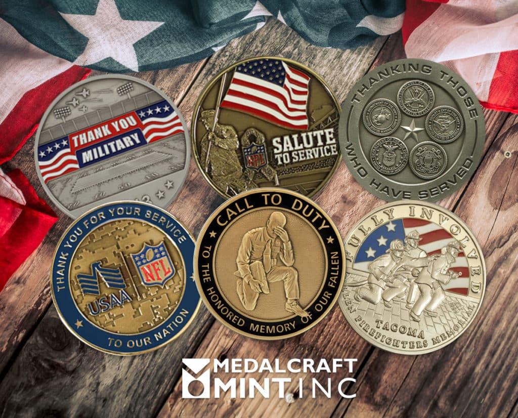 Medalcraft Mint custom memorial coins