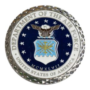 Air Force Enamel Coin