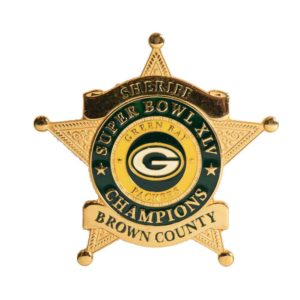 Packers Sheriff Badge