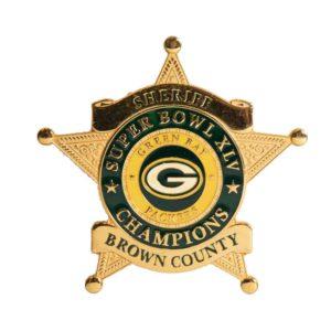 Packers Sheriff Badge