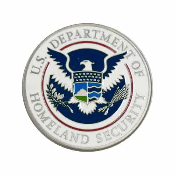Department Homeland Security Coin