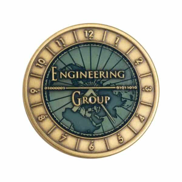 Medalcraft Mint engineering group coin