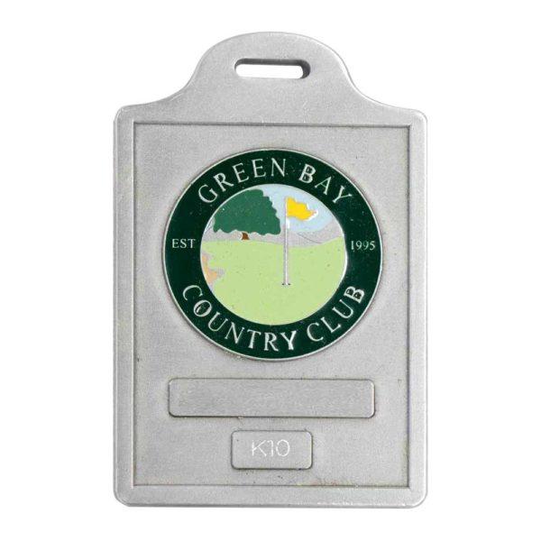 Medalcraft Mint golf bag tag
