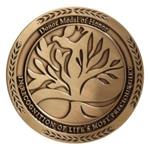 Medalcraft Mint organ donor large medallion