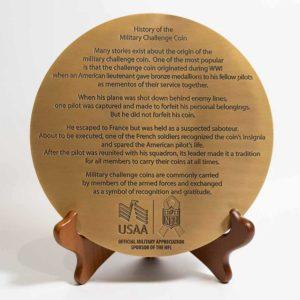 USAA large medallion