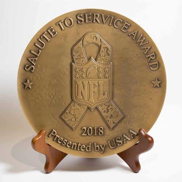 Medalcraft Mint NFL large medallion