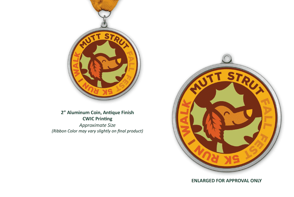 The challenge: Creating custom event medals in less than 2 weeks