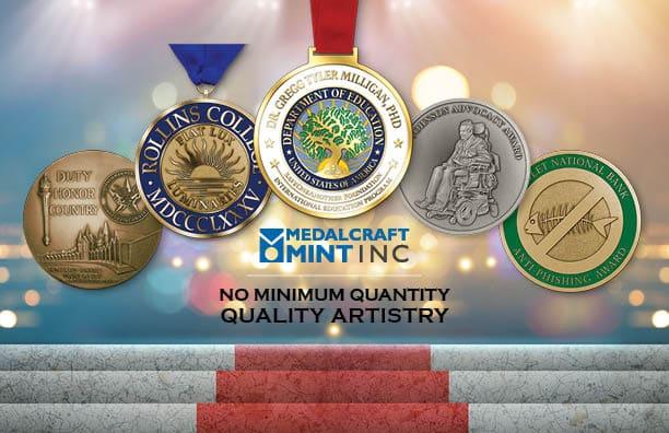 Medalcraft Mint large custom award medallion