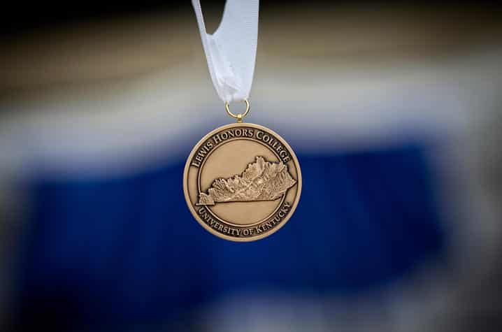 Medalcraft Mint graduation medal | Photo by Mark Cornelison | UKphoto