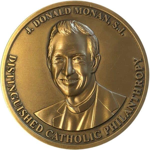 Medalcraft Mint Large 3D Bronze Medallion