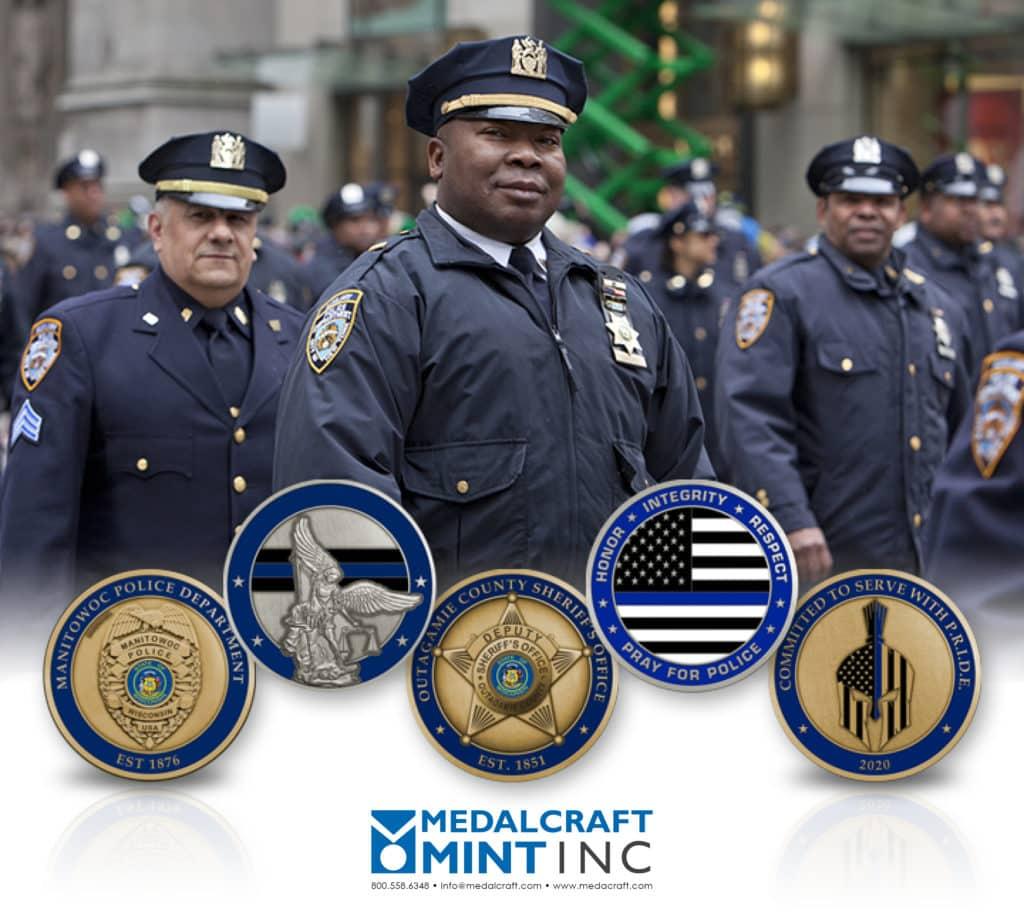 Medalcraft Mint law enforcement medals
