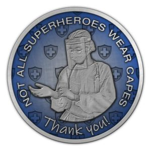 Medalcraft Mint Not All Superheroes Wear Capes Medallion