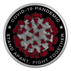 Medalcraft Mint Covid-19 Pandemic Medallion