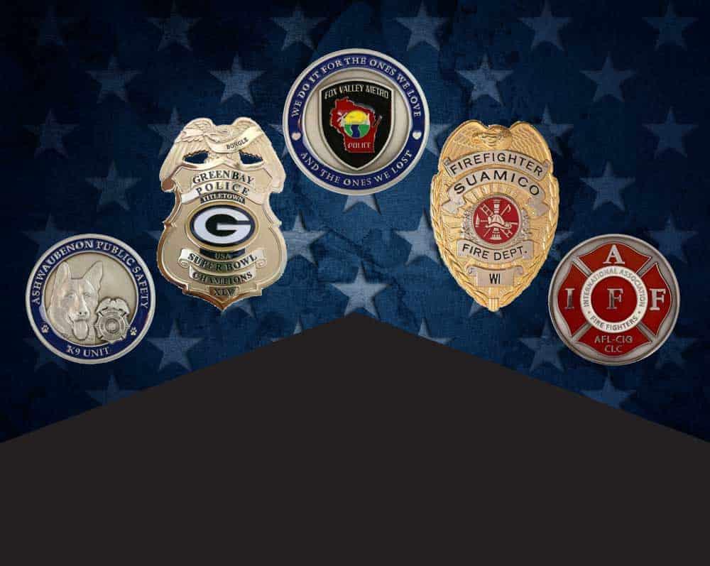 Law Enforcement / Fire & Rescue Industries graphic
