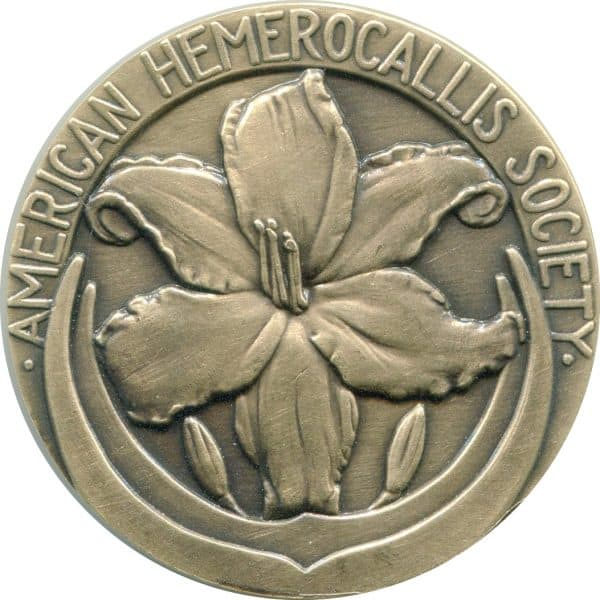 Medalcraft Mint American Hemerocallis Society Floral Antiqued Bronze Medal