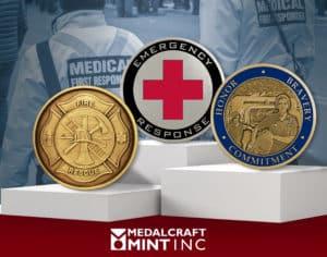Medalcraft Mint first responder coins