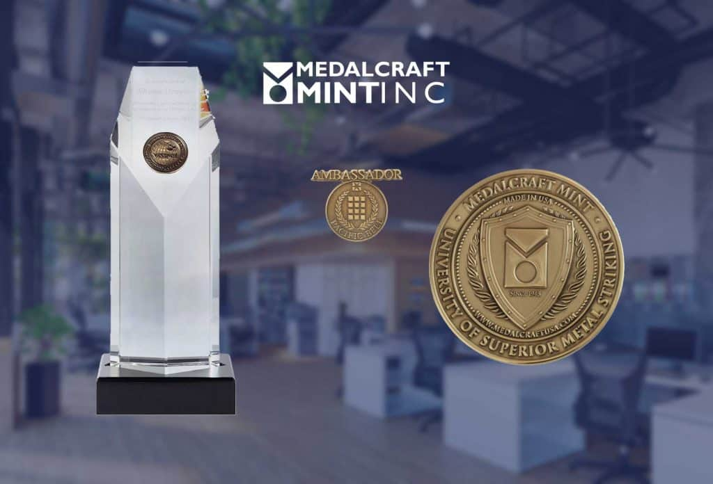 Medalcraft employee recognition awards