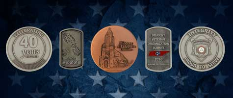 Medalcraft Mint Associations industries graphic