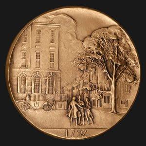 New York Stock Exchange Founding Medal