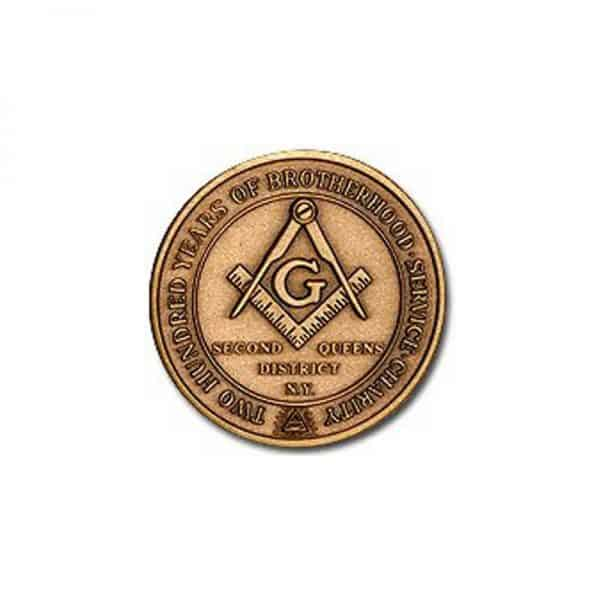 Medalcraft Mint Masons Coin